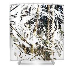 Spirit Animal . Bear Shower Curtain