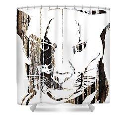 Spirit Animal . Cougar Shower Curtain