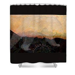 Spirit Bear # 6 Shower Curtain