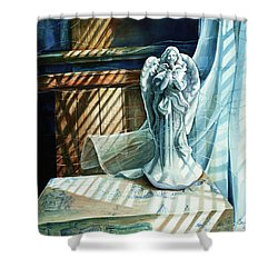 Spirit Breeze Shower Curtain
