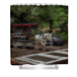 Spirit Carriage 1 Shower Curtain by William Horden