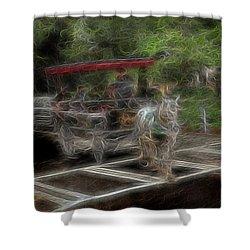 Spirit Carriage 2 Shower Curtain by William Horden