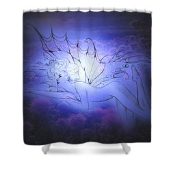 Spirit Fay Shower Curtain