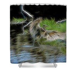 Spirit Garden 4 Shower Curtain by William Horden