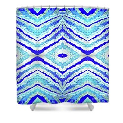 Spirit Journey To The Other Side  Shower Curtain by Rachel Hannah