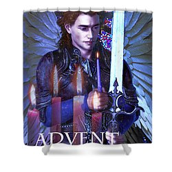 Spirit Of Advent Shower Curtain