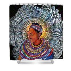 Spirit Of Africa Shower Curtain by Michael Durst