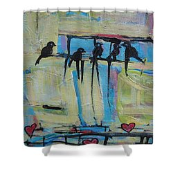 Spirit Of Joy 1 Shower Curtain