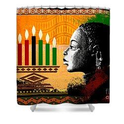 Spirit Of Kwanzaa Shower Curtain