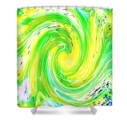 Spirit Of Nature I I Shower Curtain