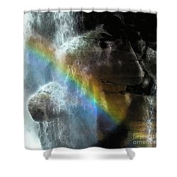 Shower Curtain featuring the photograph Spirit Of Nooksack Falls by Yulia Kazansky