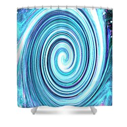 Spirit Of Sky I Shower Curtain