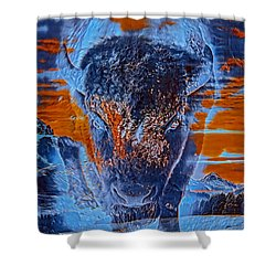 Spirit Of The Buffalo Shower Curtain