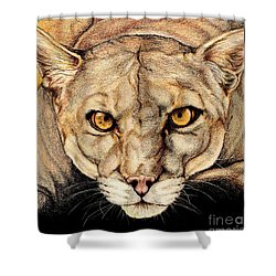 Spirit Of The Everglades Shower Curtain