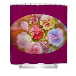 Spirit Petals Shower Curtain