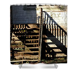 Spirit Stairs Shower Curtain by Brian Chase