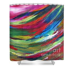 Spirit Takes Flight Shower Curtain