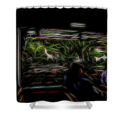 Spirit Tour Shower Curtain by William Horden