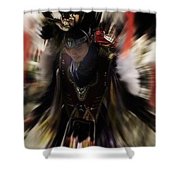 Spirited Dancer Shower Curtain