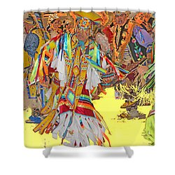 Spirited Moves Shower Curtain