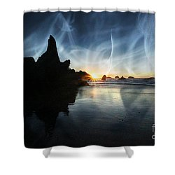 Spirits At Sunset Shower Curtain