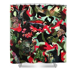 Spirits Of The Forest Shower Curtain by Peter Bonk