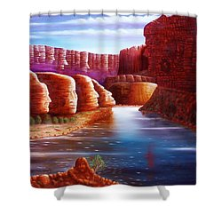 Spirits Of The River Shower Curtain