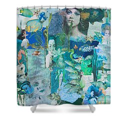 Spirits Of The Sea Shower Curtain