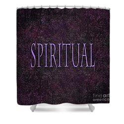 Spiritual Shower Curtain