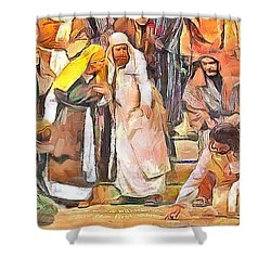 Spiritual Makeover Shower Curtain