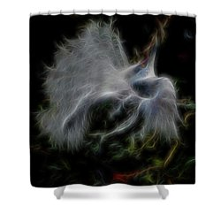 Spiritual Plumage Shower Curtain by William Horden