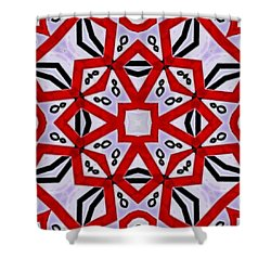 Spiro #3 Shower Curtain