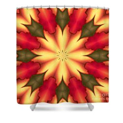 Spiro#4 Shower Curtain