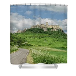 Spish Castle Shower Curtain