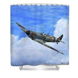 Spitfire Airborne Shower Curtain