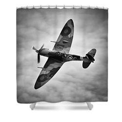Spitfire Mk5 Shower Curtain by Ian Merton