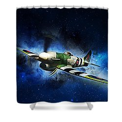 Hawker Typhoon Shower Curtain