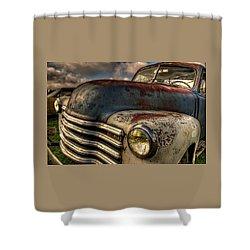 Spittin Rust Shower Curtain