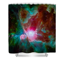 Spitzer's Orion Shower Curtain