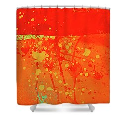 Splash 6 Shower Curtain by Jane Davies