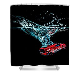 Splash Down Shower Curtain
