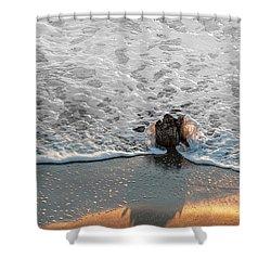 Splash Shower Curtain by Glenn Gemmell