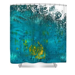 Splash Shower Curtain by Jack Zulli