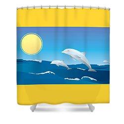 Splash Shower Curtain by Now