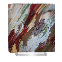 Splash Of Amber Shower Curtain