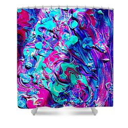 Splash Of Color Shower Curtain