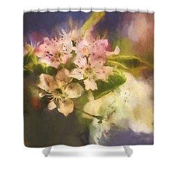 Splash Of Spring Shower Curtain