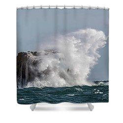Shower Curtain featuring the photograph Splash by Paul Freidlund