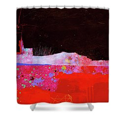 Splash#3 Shower Curtain by Jane Davies