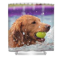 Splashing Around Shower Curtain